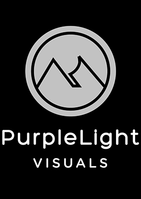 Purple Light Visuals- logo